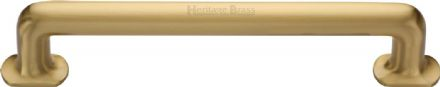 M Marcus Heritage Brass V1376 330SB Traditional Pull Handle Satin Brass